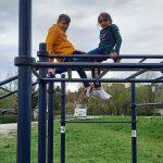 Spielen am Spielplatz in der LernOase Mondsee