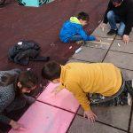 Spielen mit Straßenkreide LernOase Mondsee